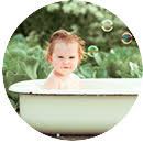 Detské šampóny a kúpeľ