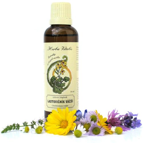 Herba Vitalis tinktúra z byliny Lastovičník väčší 50ml