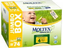 EKOPLIENKY MAXI 7 - 18 kg jumbo box, 74ks Moltex