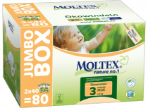 EKOPLIENKY MIDI 4 - 9 kg jumbo box, 80ks Moltex
