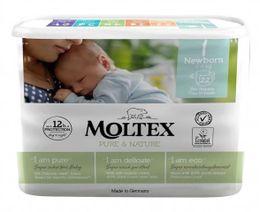 EKOPLIENKY NEWBORN 2 - 4 kg, 23ks Moltex