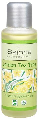HYDROFILNÝ ODLIČOVACÍ OLEJ LEMON TEA TREE, Saloos