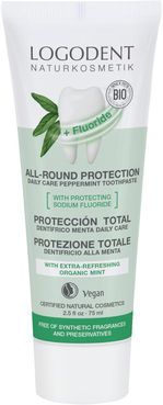 ZUBNÁ PASTA All-Round Protection daily care Peppermint, Logona